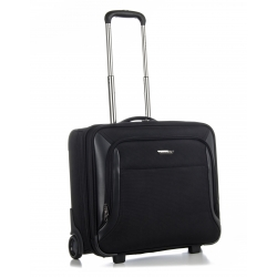 "Business trolley with 2 compartments for PC 15,6""-17"""